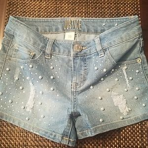 Girls Justice  Shorts Size 10